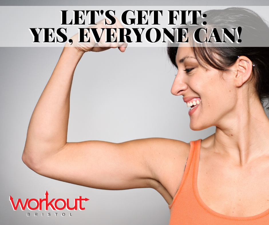 Get Fit (Yes, Anyone Can Do It!)